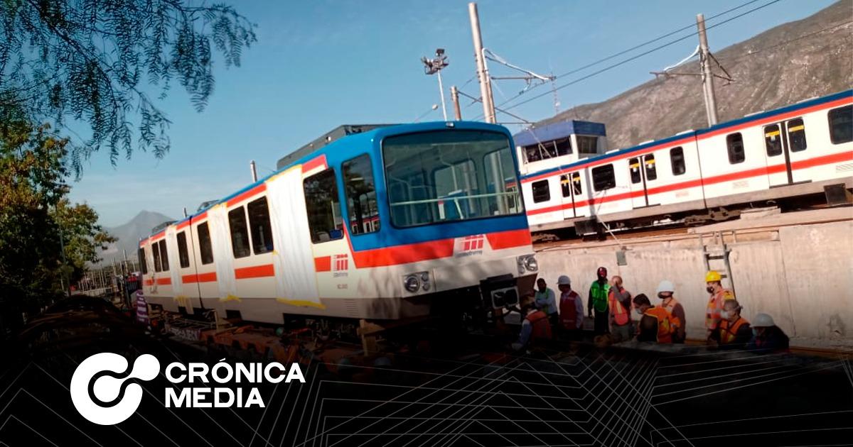 Llegan a Monterrey dos vagones más para Metrorrey