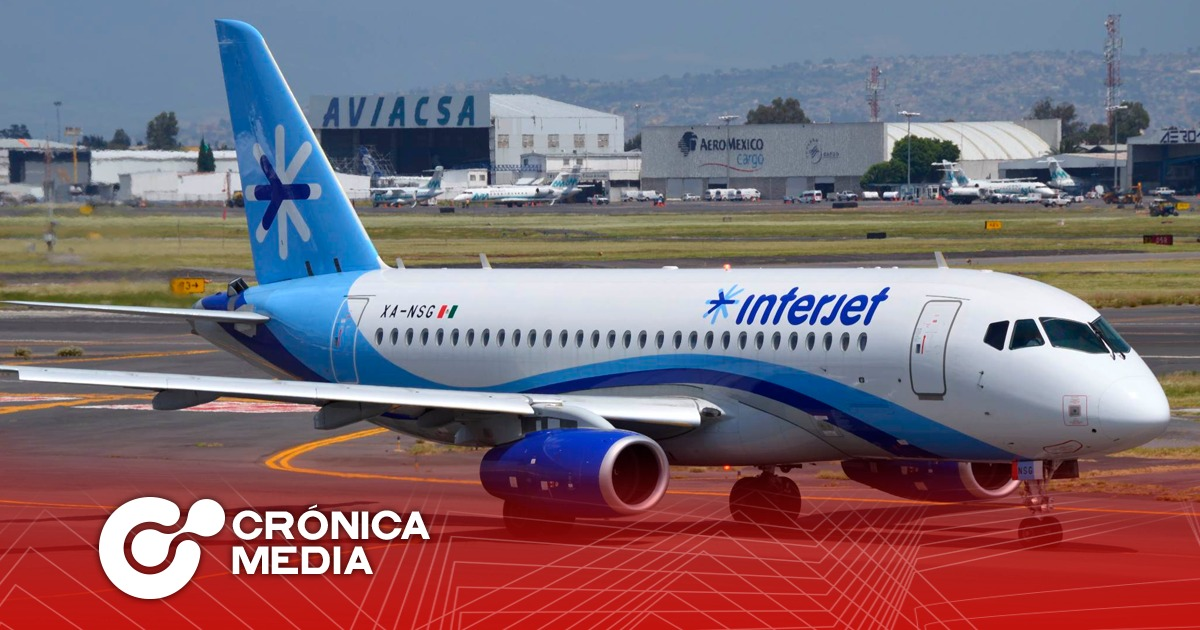 Interjet cancela vuelos por tercer día consecutivo