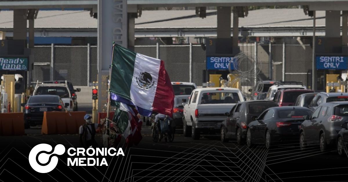 México y EU extienden cierre parcial de frontera hasta 22 de enero
