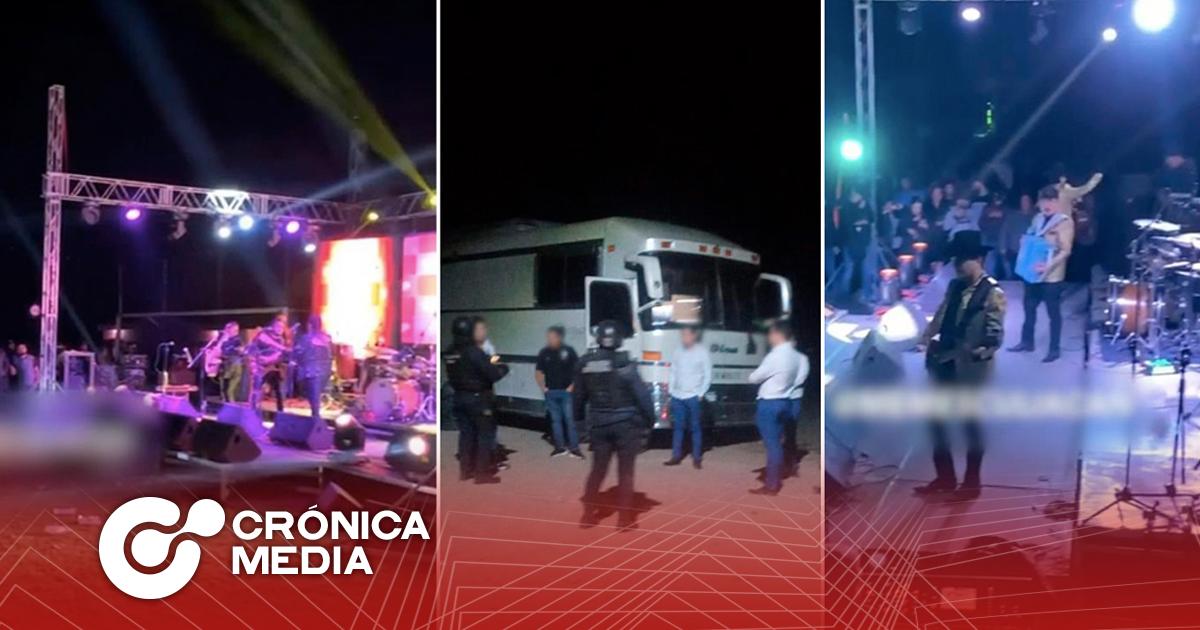 """Realizan """"Chapo Posada"""", soldados intervinieron la celebración"""