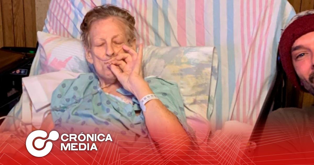Abuela se vuelve viral por fumar marihuana antes de morir