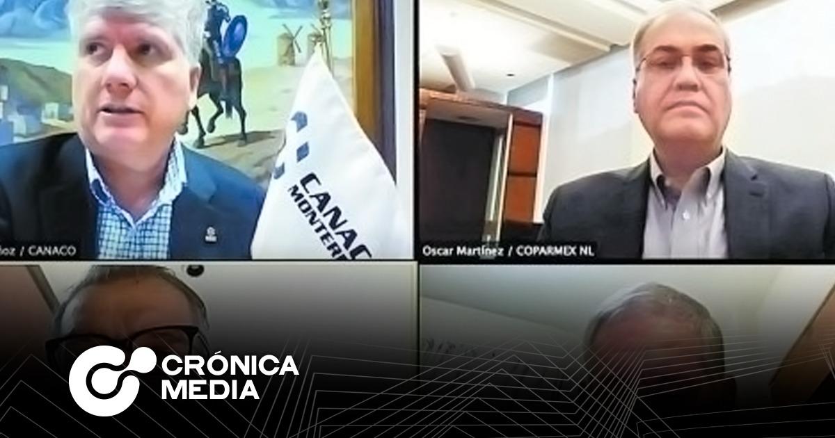 Canaco Mty y Coparmex NL negocian con estado medidas anticovid