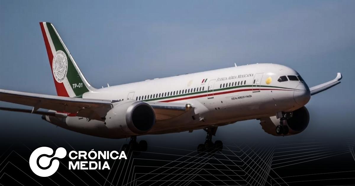 """Avión presidencial no se vende por ser """"demasiado extravagante"""": AMLO"""