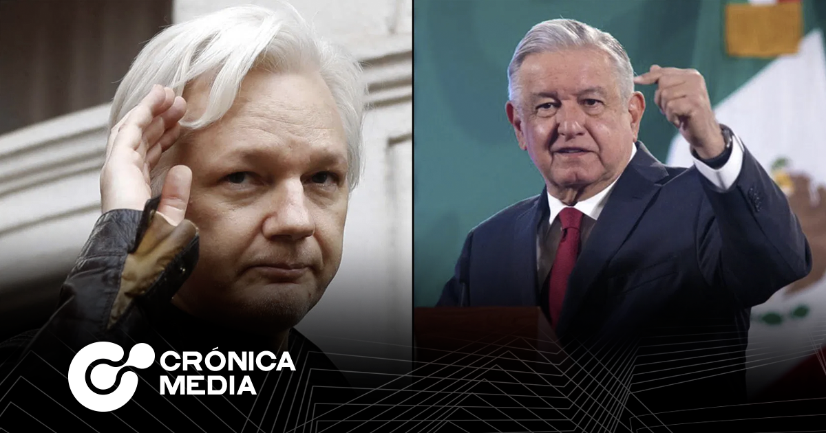 """AMLO: """"Julian Assange merece una oportunidad"""""""