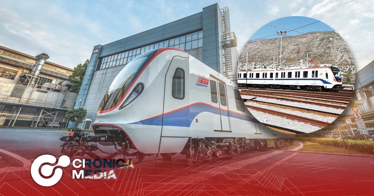 Prueban vagones chinos para la línea 3 de Metrorrey
