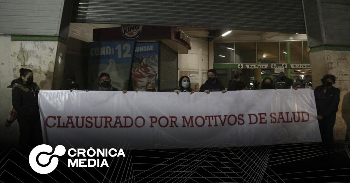 """Protestantes """"clausuran"""" estación Cuauhtémoc de Metrorrey"""