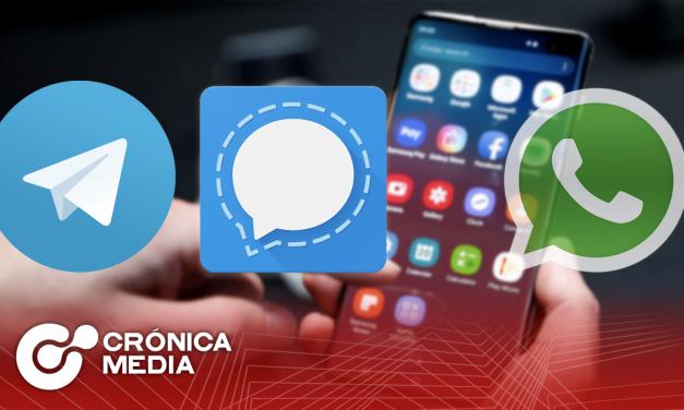Aumentan descargas de Signal y Telegram por cambios en WhatsApp.