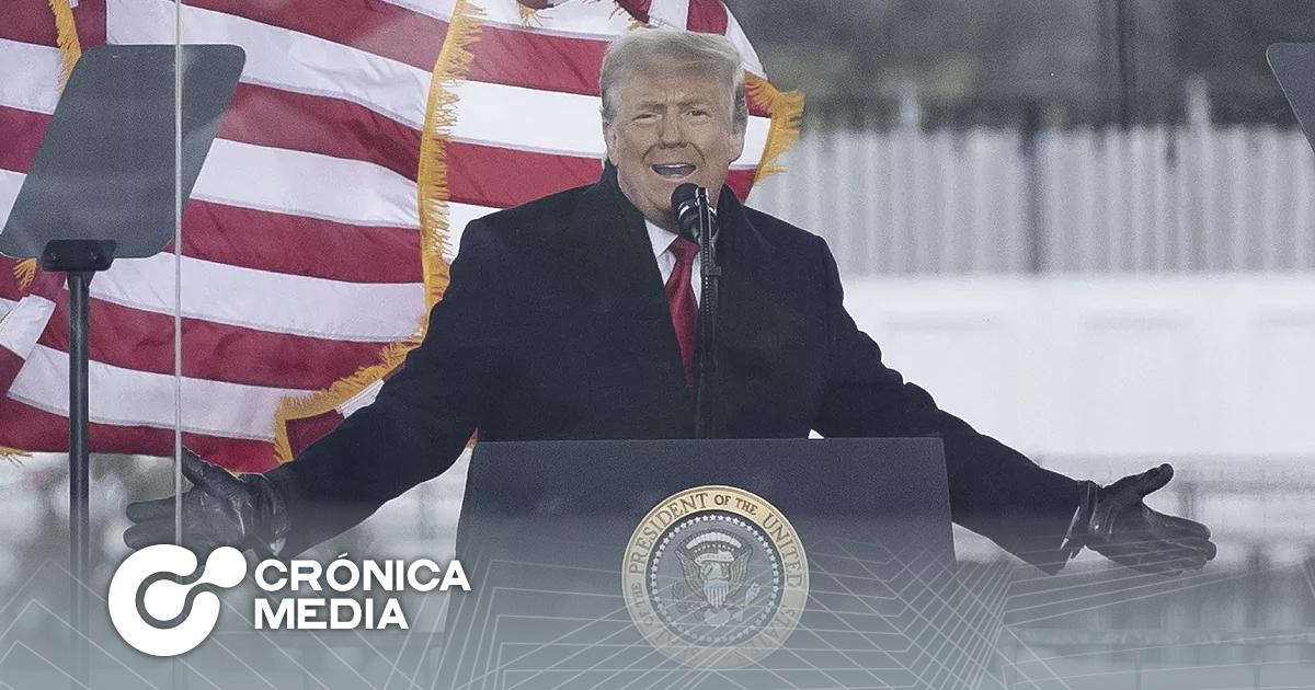 """Promete Trump """"Transición ordenada"""""""