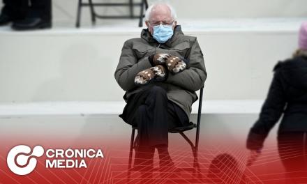 Foto viral de Sanders, recauda 1.8 mdd para caridad