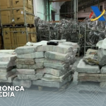 La Policía de España confisca más de 2 toneladas de cocaína escondidas en carbón, con conexión con Brasil y Paraguay