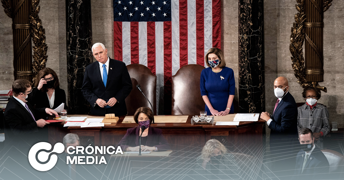 Congreso estadounidense proclama victoria oficial de Joe Biden