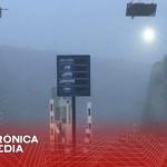 Cierran autopista Monterrey-Saltillo por neblina