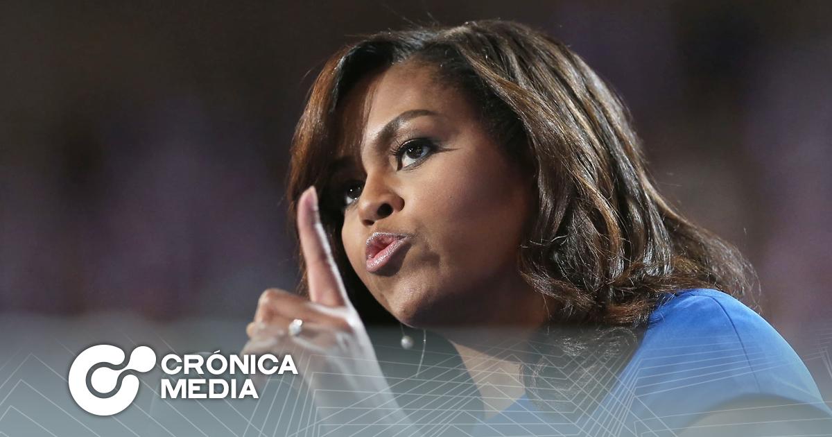 Michelle Obama pide censura permantente de Trump en las redes sociales