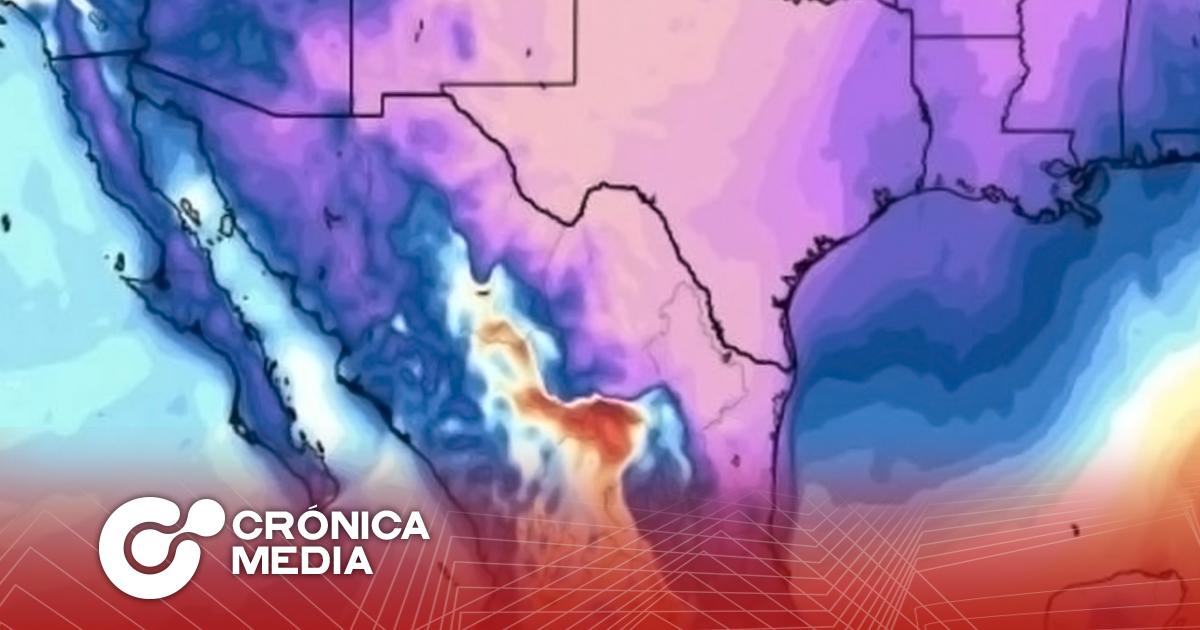 Frente frío llega a Nuevo León, se esperan temperaturas bajo cero.