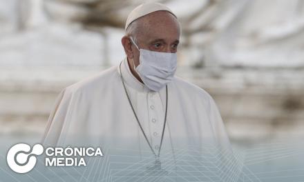 Papa Francisco recibe segunda dosis de vacuna contra covid-19
