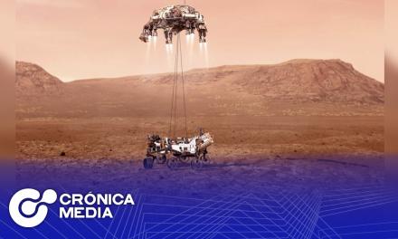 """Aterriza el """"Perseverance"""" en Marte"""