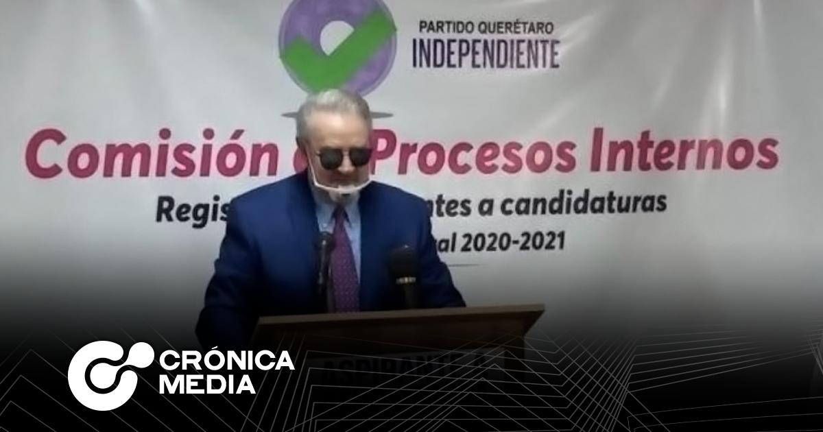 Se queda 'Quico' sin candidaturas a gobierno y alcaldía de Querétaro