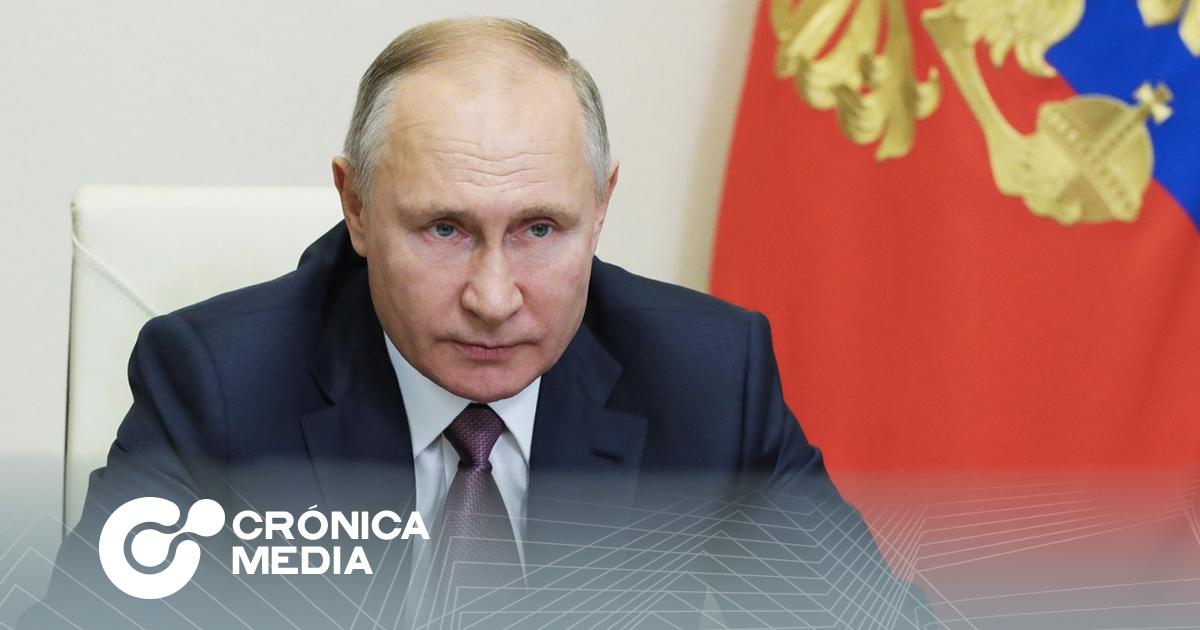 Vladimir Putin será vacunado contra Covid-19 el martes