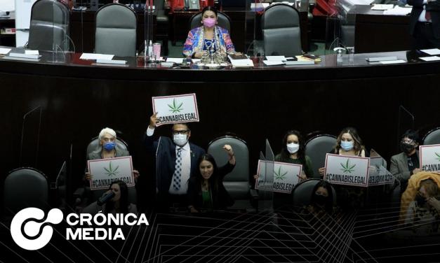 ¡Histórico!, Diputados aprueban legalización de marihuana en México