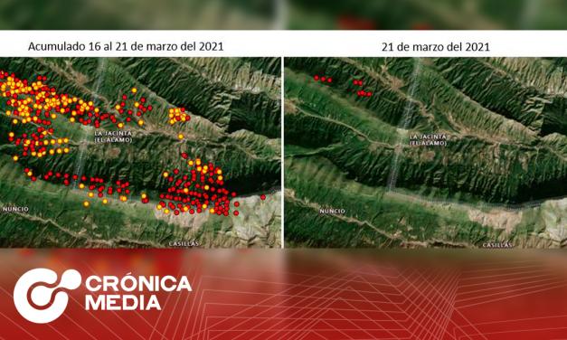 6 incendios forestales en Nuevo León se combaten de manera simultánea