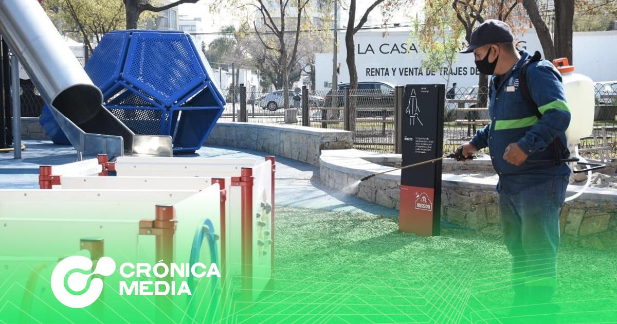 San Pedro abrirá 5 áreas de juegos con protocolo sanitario