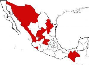 estados en México