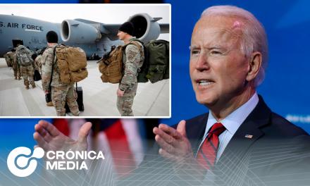 Joe Biden anuncia que retirará soldados de Afganistán