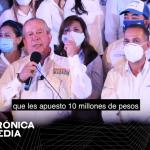 Candidato a la Alcaldía de San Pedro Garza García apuesta a 10 mdp a medios por resultados de encuestas.