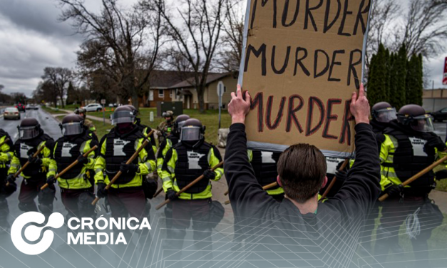 En Minneapolis se desatan protestas por muerte de Daunte Wright