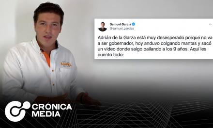 Respuesta de Samuel García a acusaciones de estar involucrado con el narcotráfico.
