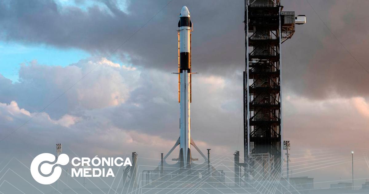 Despegó el cohete SpaceX Crew Dragon con cuatro astronautas.