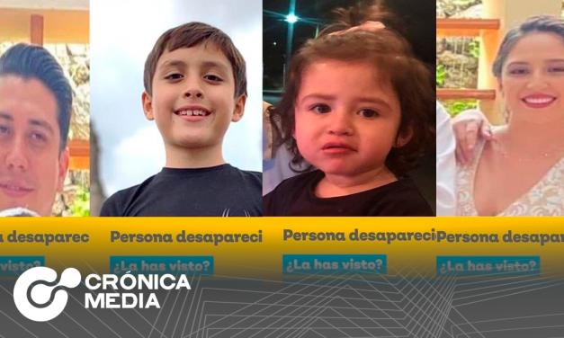 Localizan con vida a familia desaparecida en Acatic, Jalisco