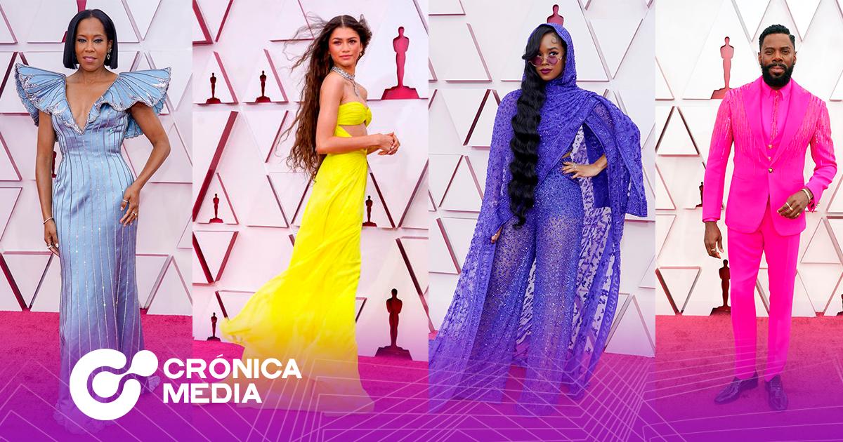 Los mejores y peores vestidos en los Oscars 2021