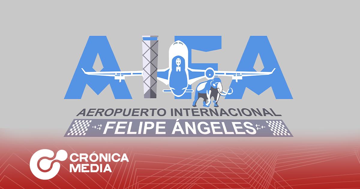 Cancelan logo del aeropuerto Felipe Ángeles