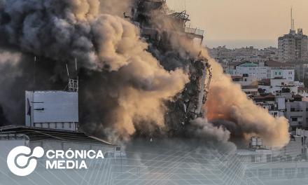 Israel Lanza una gran ofensiva aérea en contra Hamas