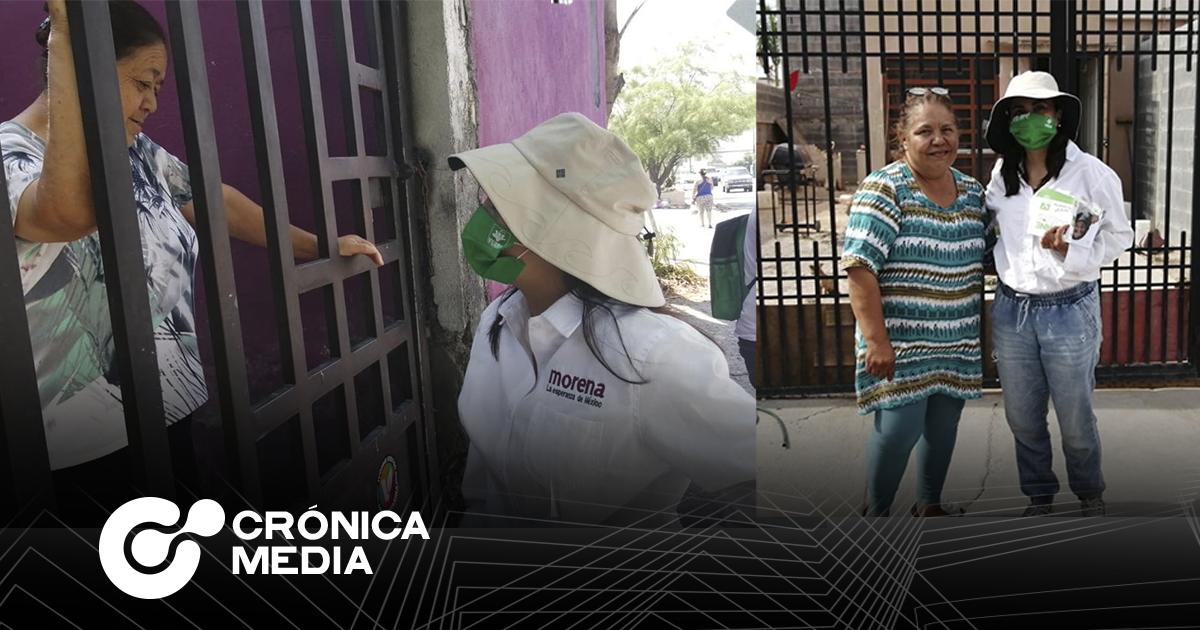 La candidata Ivonne Bustos busca nivelar brecha salarial para mujeres en Santa Catarina