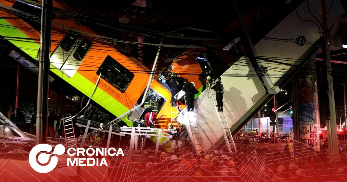 23 muertos en accidente del Metro en CDMX