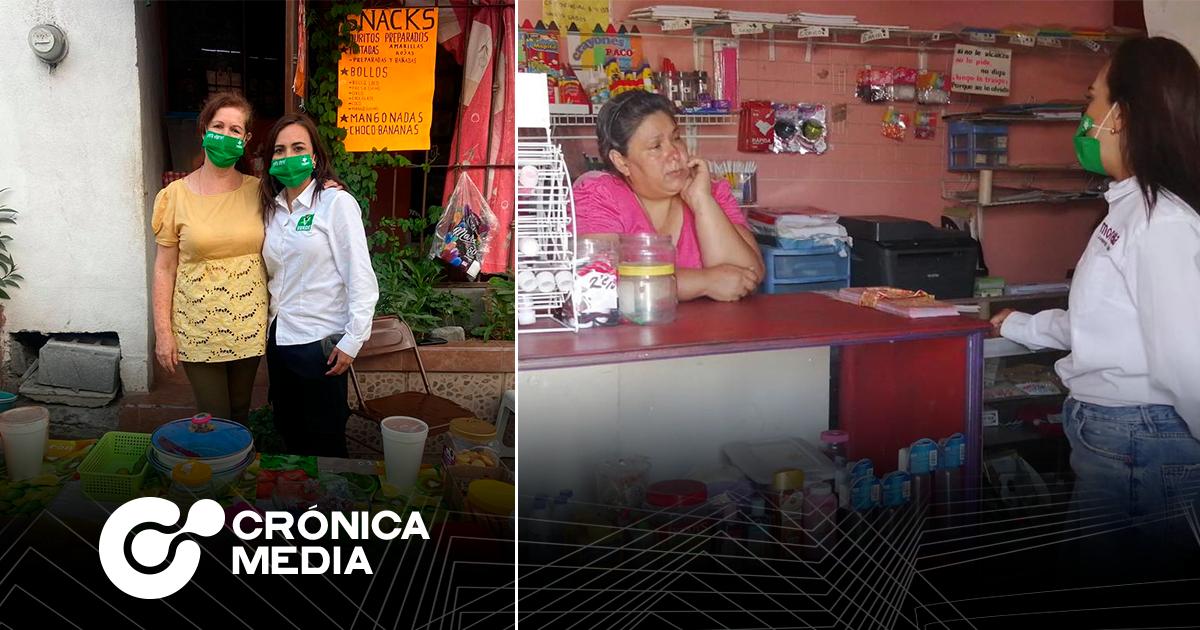 La candidata Ivonne Bustos propone los miércoles ciudadanos para las colonias en Santa Catarina
