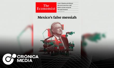 """La revista """"The Economist"""" señala a AMLO como un """"Peligro para la democracia"""""""