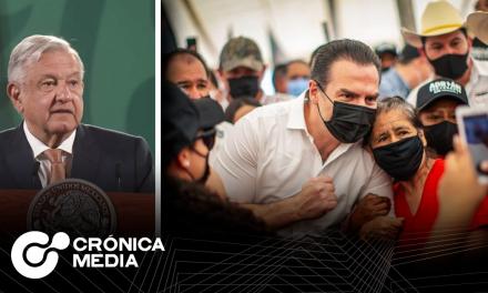 Respuesta de Adrián de la Garza a acusación de AMLO por compra de votos