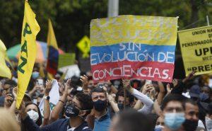 Protestas, reforma tributaria