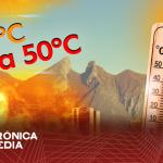 Hoy se esperan altas temperaturas en gran parte de Nuevo León.