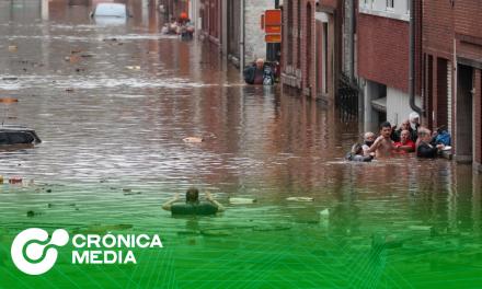 Tormentas e inundaciones en Alemania, Bélgica y Países Bajos dejan al menos 126 muertos y decenas de desaparecidos.