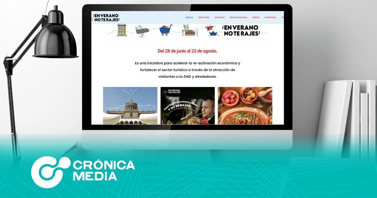 """Jalisco lanza sitio web """"En verano, no te rajes"""""""