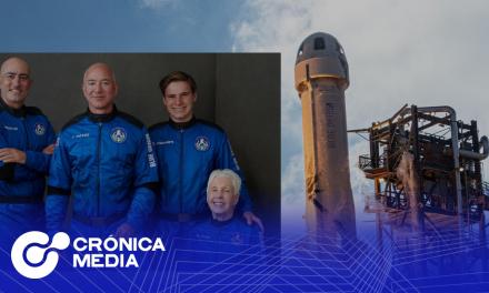 Turismo espacial: Jeff Bezos completó viaje al espacio.
