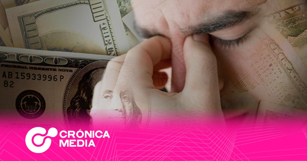 5 efectos del estrés financiero en el cuerpo