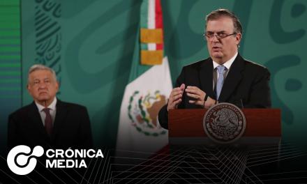Marcelo Ebrard confirma que va por presidencia en 2024