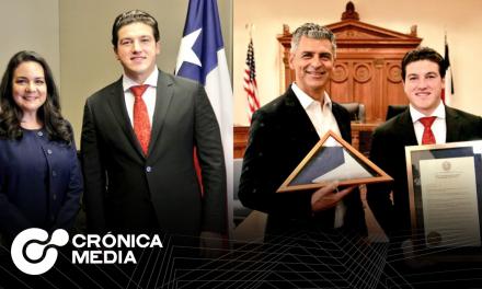 El gobernador electo Samuel García visita Texas para buscar oportunidades económicas.